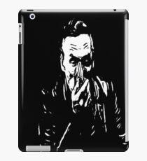 booth on black iPad Case/Skin