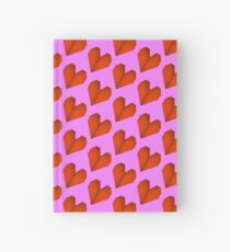 Origami heart Hardcover Journal