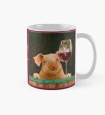 Will Bullas / Becher / Schweinestall noir ... / Humor / Tiere Tasse