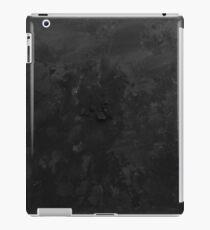 Black - Ink & Acrylic iPad Case/Skin