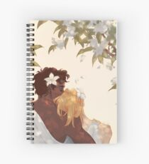 Myrtle Petals Spiral Notebook