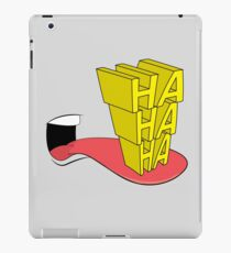 Laughing Out Loud iPad Case/Skin