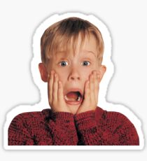 Kevin Mccalister Home Alone Movie Sticker
