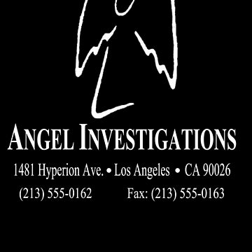 """Angel Investigations (From the series """"Angel"""") ( Inverse colors) by LostKittenClub"""