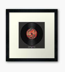 Dragon Vinyl Record Framed Print