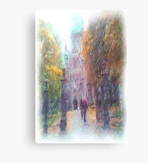 Nidaros photo paint Canvas Print