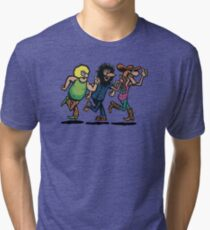 The Fabulous Furry Freak Brothers Tri-blend T-Shirt