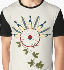 Flower Indians Graphic T-Shirt