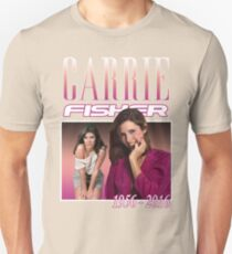 Carrie Fisher Retro Shirt Unisex T-Shirt