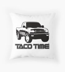 Taco Time- Toyota Tacoma 1st Gen Throw Pillow