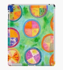Mixed Colorful Colors in Circles  iPad Case/Skin