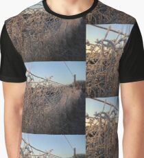 Snow Fence Graphic T-Shirt