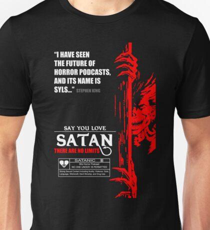 Say You Love Satan 80s Horror Podcast - Hellraiser Unisex T-Shirt
