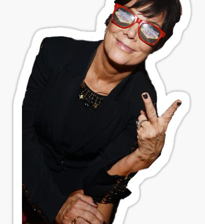 Kris Jenner Party Animal Sticker