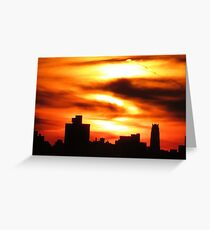 NYC Sihouette Greeting Card