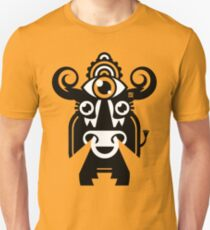 Monster by MUCK. Crypto Zoo. Dun Cow Unisex T-Shirt