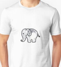 Elephant with Marble Fill T-Shirt