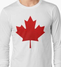 Canada is happening Long Sleeve T-Shirt