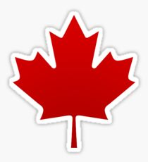 Canada is happening Sticker