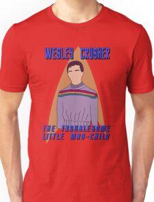 Wesley Crusher - Troublesome Man-child - Star Trek the Next Generation Unisex T-Shirt