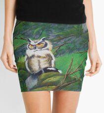 The Forest Owl Mini Skirt