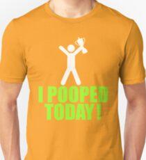 I Pooped Today Emoji T-shirt Cool Poop Emoticon Tshirt T-Shirt