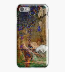 My Precious kitty in a abstract  iPhone Case/Skin