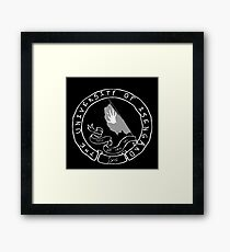 University of Isengard Framed Print