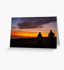 Witnessing a Donegal Sunset Greeting Card