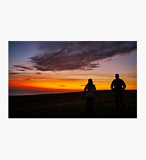 Witnessing a Donegal Sunset Photographic Print