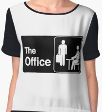 The Office TV Show Logo Chiffon Top