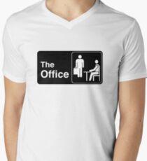 The Office TV Show Logo Men's V-Neck T-Shirt