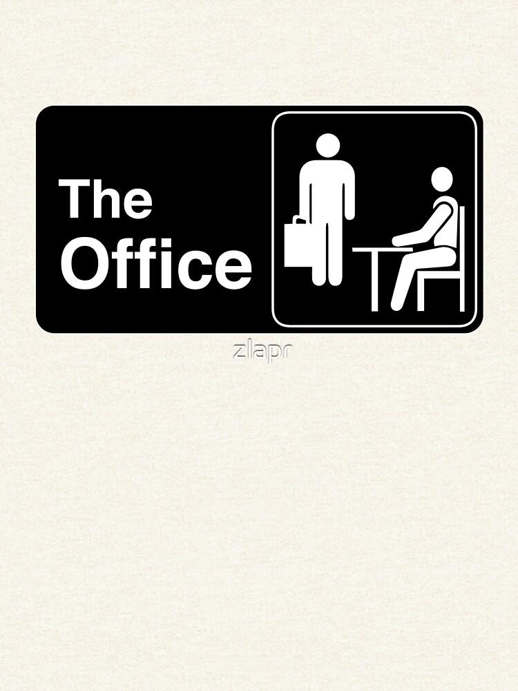 El logotipo de Office TV Show de zlapr