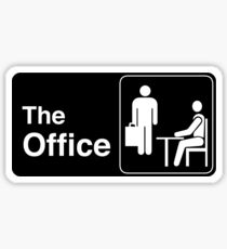 The Office TV Show Logo Sticker