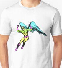 Retro Winged Hero  T-Shirt