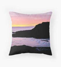 Sunset at Beefan Mountain - Glencolmcille, Ireland Throw Pillow