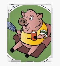 The Sports Pig iPad Case/Skin