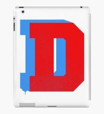D Stencil  iPad Case/Skin