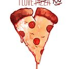 Pizza My Heart by bendrawslife