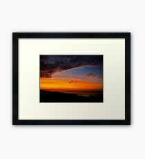 Sunset over the Atlantic - Glencolmcille, Ireland Framed Print