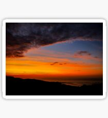 Sunset over the Atlantic - Glencolmcille, Ireland Sticker