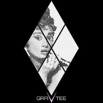 Audrey Hepburn by gravtee
