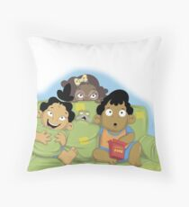 The Callaloo Kids Throw Pillow