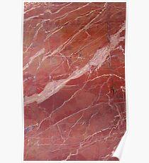 Carrara italian marble Poster