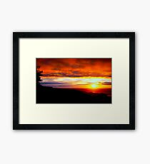 Sunset  - Glencolmcille, Ireland Framed Print
