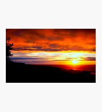 Sunset  - Glencolmcille, Ireland Photographic Print