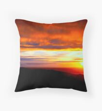 Sunset  - Glencolmcille, Ireland Throw Pillow
