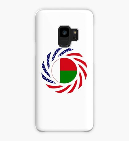 Madagascan American Multinational Patriot Flag Series Case/Skin for Samsung Galaxy