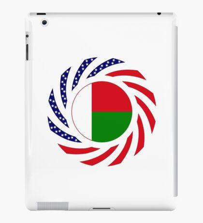 Madagascan American Multinational Patriot Flag Series iPad Case/Skin