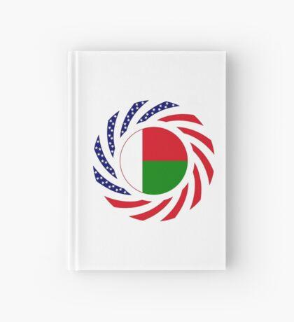Madagascan American Multinational Patriot Flag Series Hardcover Journal